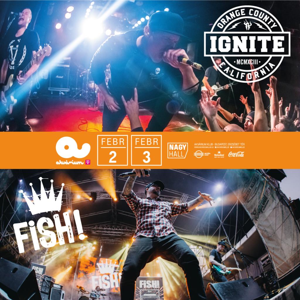 Ignite (US) + Fish! 1. day