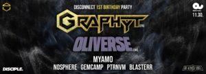Disconnect w/Graphyt, Oliverse, Myamo