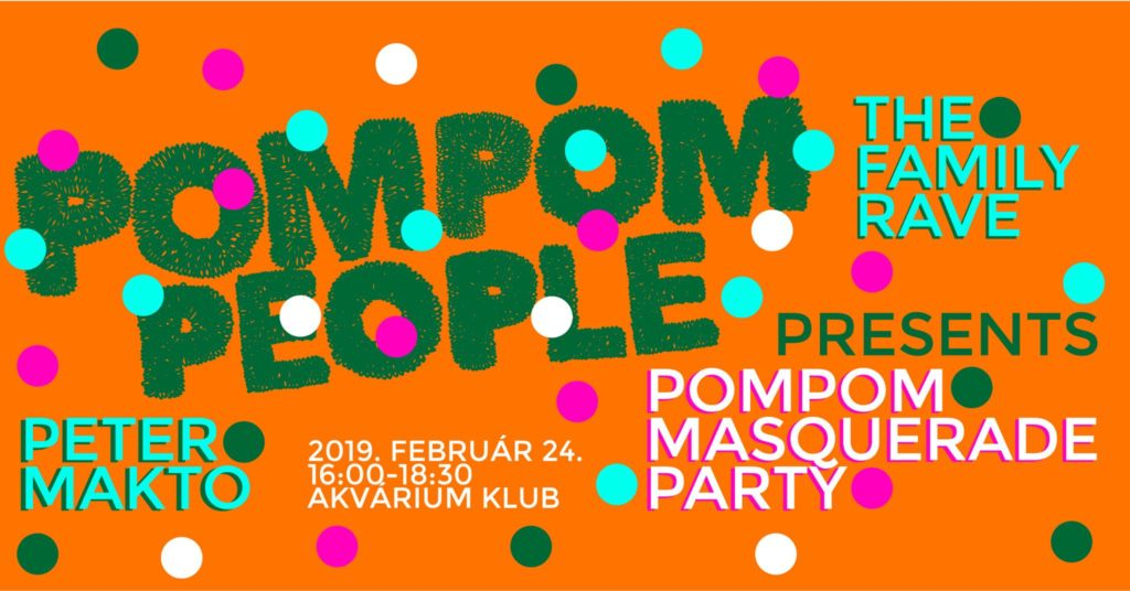 PomPom Masquerade Party – The Family Rave