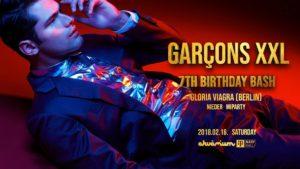 Garçons XXL – 7th Birthday Bash