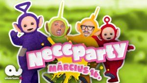 Necc Party dupla 2. nap