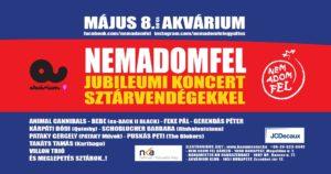 NAF 20 – Nem Adom Fel Jubileumi Lemezbemutató Sztárvendégekkel
