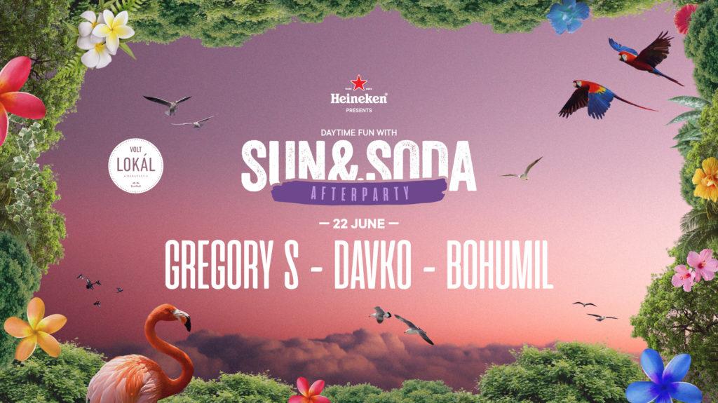Sun & Soda Afterparty w/Gregory S, Davko, Bohumil