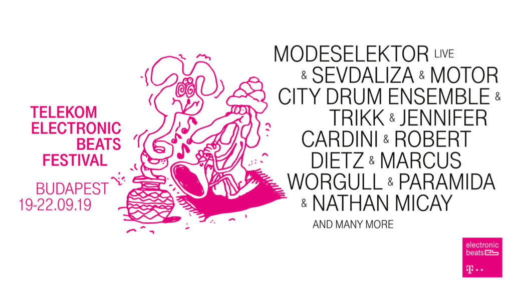 Telekom Electronic Beats Festival Budapest 2019