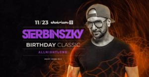 Sterbinszky Classic Allnightlong | Birthday Party