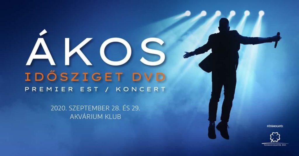 Ákos – IDŐSZIGET DVD Premier Est