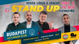 Stand Up Comedy – NEKED LÖKIK A SÓDERT