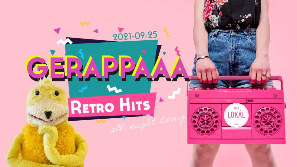 Gerappaaa 90's & 00's party