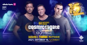 SOC Events pres. 15 YEARS ANNIVERSARY w/ COSMIC GATE, GIUSEPPE OTTAVIANI